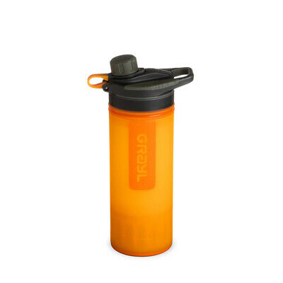 Grayl GeoPress Outdoor- und Reisewasserfilter, Visibility orange