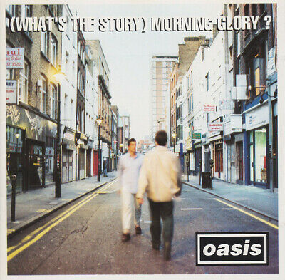 Oasis (2) (What's The Story) Morning Glory? (VG+) CD, Album
