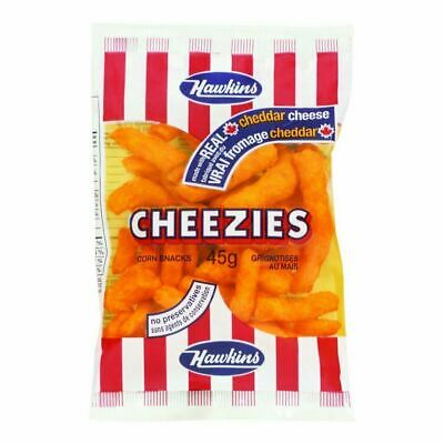 Hawkins Cheezies, 36 count x 45g/1.6oz.,  Bags - {Imported from Canada}