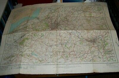 Bristol District Ordnance Survey Map Special Sheet For Educational Purposes 1913