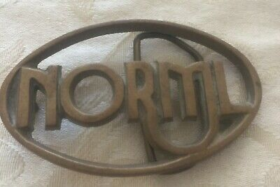 Vintage Norml-Marijuana Reform, Brass Belt Buckle From The Early 70'S