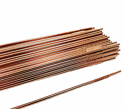 """ER80S-D2 Tig Rods Low Alloy Welding Wire .045"""" 1/16"""" 3/32"""" 1/8"""" x 36"""" 80SD2"""
