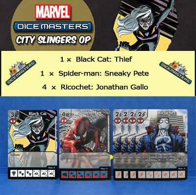 Spider-Man Dice Masters Promo Marvel City Slingers Sneaky Pete
