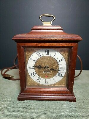 Vintage Carriage Seth Thomas Buckingham Electric Mantle Clock E018-000 Working