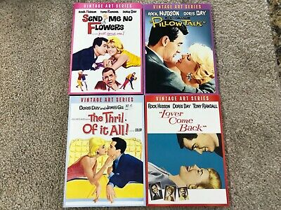 Doris Day 4 DVD Movie Collection