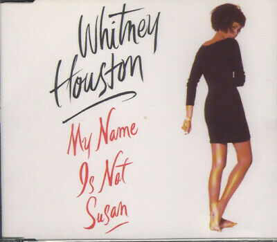 Whitney Houston My Name Is Not Susan (NM or M-) CD, Maxi