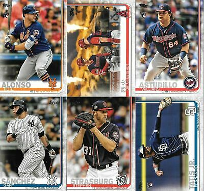 2019 Topps Series 2 Baseball You Pick/Choose the Card  *Free Shipping* #351-500