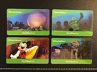 Four (4) 1 day Park Hopper FastPass + Walt Disney World Tickets   *Exp 12/20*