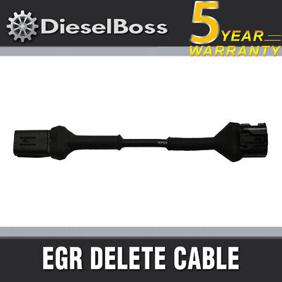 EGR DELETE CABLE FOR HOLDEN RC COLORADO 2008-2012 4JJ1 Engine