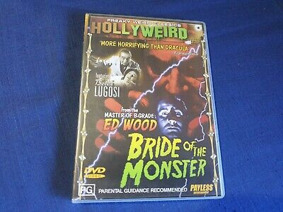 Bride Of The Monster - DVD - Region 4