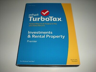 Turbotax 2014 Premier with state. New in sealed box.  Better than Deluxe.