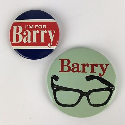 I'm For Barry Goldwater President Presidential Campaign Button Pins 1964 Glasses