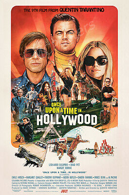 Posters USA - Once Upon A Time In Hollywood Movie Poster Glossy Finish - CIN016