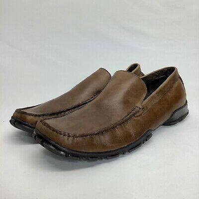 KENNETH COLE NEW YORK Happy Hour Brown Mens Loafers Size 8M