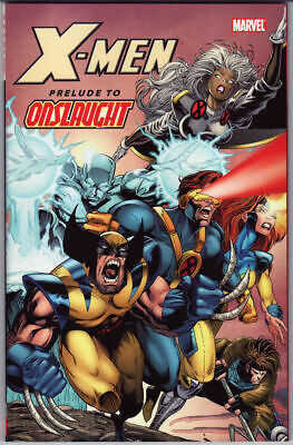 Uncanny X-Men TPB Prelude To Onslaught Volume 0 OOP RARE Wolverine Cable