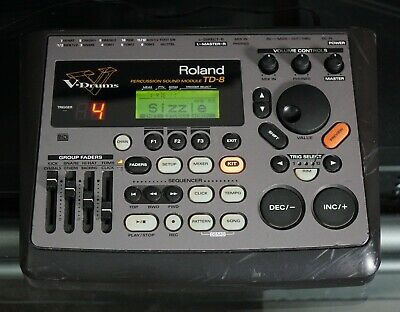 Roland TD-8 V-Drum Percussion Sound Module Machine For Electronic Drum Kit~WORKS