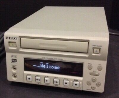 Sony Dvo-1000Md Professional Medical Dvd Recorder W Hdd For Special Sale Price