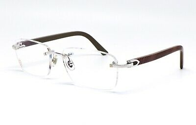 24819a1b09 LUNETTES CARTIER DEMI Lune C Decor T8100772 Frame Neuf Old Stock ...