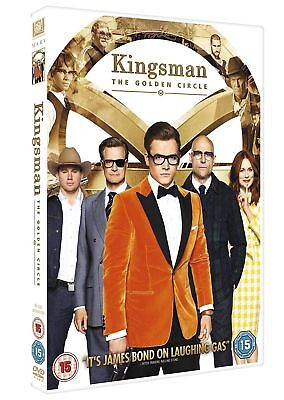 Kingsman: The Golden Circle (DVD, 2017)