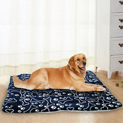 Dog Bed Pet Kennel Cushion Mat Crate/Cage Pad Waterproof Outdoor Indoor