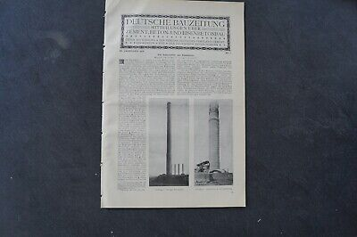 1906 Bauzeitung Beilage / 7 USA Butte Montana Butte Reduction Works