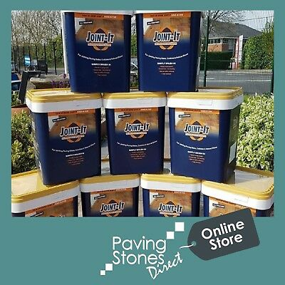 Joint it Easy All Weather Paving Jointing Grout Mortar Compound 20Kg 3 Colours✔