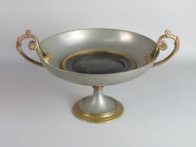 Antique Vase Bowl French Style Empire Bronze Period End '800