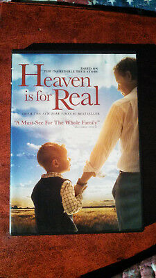 Heaven Is for Real (DVD, 2014)Greg Kinnear, Kelly Reilly, Connor Corum