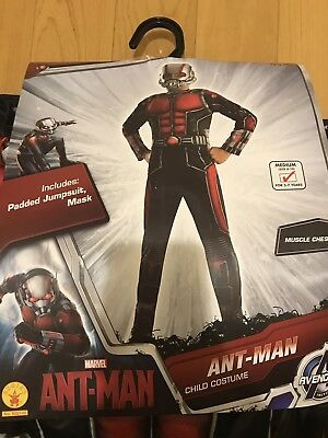 Ant Man Padded Muscle Costume Boys Rubies 620145