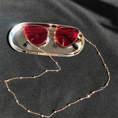 2019 metal cord for glasses strap Golden Fashion men women sunglasses chain