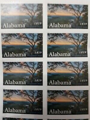 USPS Alabama 1819 Forever Stamps - 20 Pieces. Free shipping!.