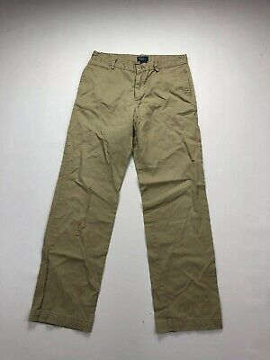 RALPH LAUREN Chino Trousers - Age 18 W30 L30 - Beige - Great Condition - Boy's