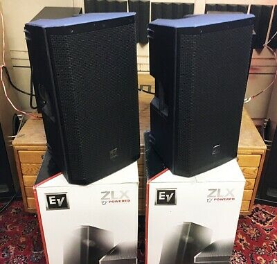 Pair - EV Electro-Voice ZLX-12P  / With Padded Covers!
