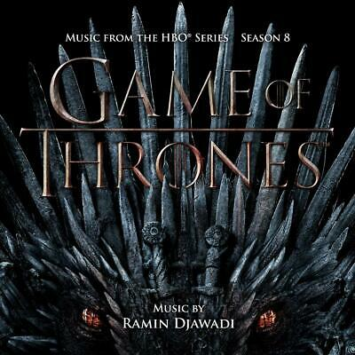 Ramin Djawadi Game Of Thrones: Season 8 Soundtrack 2 CD ALBUM NEW (19TH JULY)