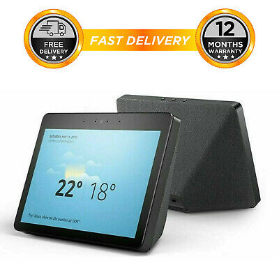 Amazon Echo Show - 2nd Generation Black- Smart Home- Alexa Voice Assistant Video