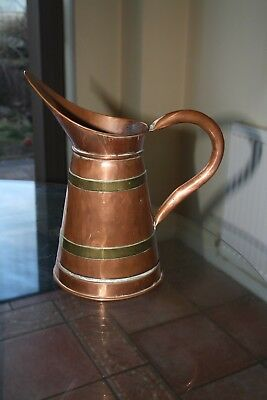 J&CO Antique brass jug