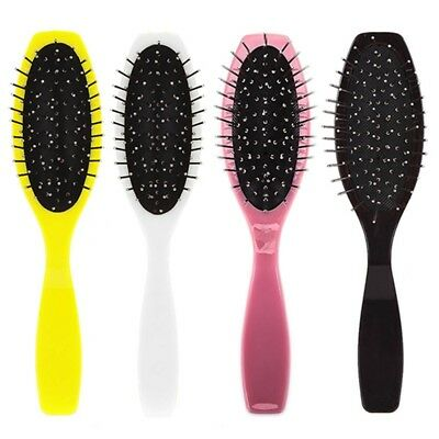 Professional Anti Static Steel Comb Brush for Wig Hair Extensions Trainin #ea6