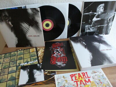 PEARL JAM LIVE - ON TEN LEGS LIMITED NUMBERED BOX in Mint DLP CD and more 2011