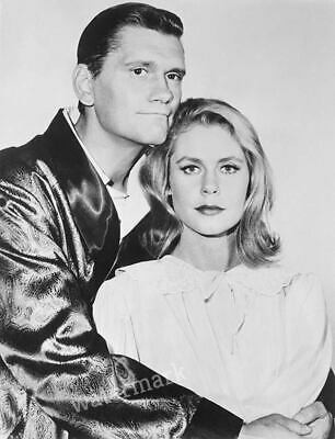 60'S-70'S Bewitched Tv Show Cast Darrin, Samantha  Headshot Publicity Photo