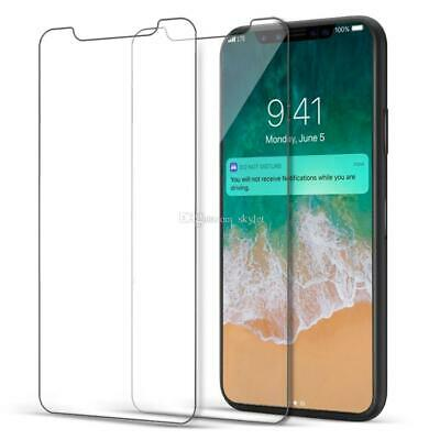 Screen Protector For Apple iPhone XS Max Tempered Glass 100% Genuine Protection