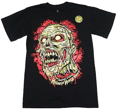 New Universal Halloween Horror Nights HHN25 Freddie VS Jason Men/'s T-Shirt S