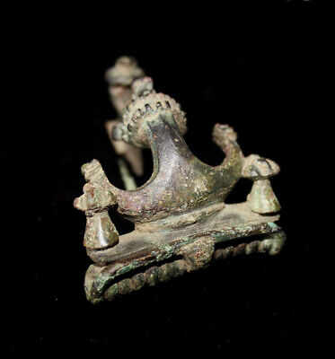 Authentic Ancient Artifact > Pannonian Anchor Fibula with bird decoration 14803