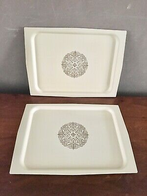 Vintage Pair Of David Douglas Serving TV Trays Unused Manitowoc Wis. Mid Century