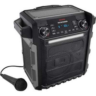 ION Audio Pathfinder Bluetooth Speaker with AM/FM Radio and Microphone(Open Box)