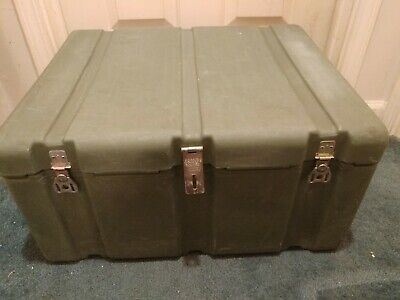 """Hardigg Pelican Military Storage Case with tray 24""""×L 20""""xW 12""""D"""