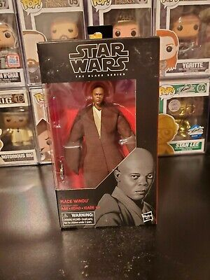 "Star Wars The Black Series Mace Windu 6"" Inch Action Figure #82 BRAND NEW!"