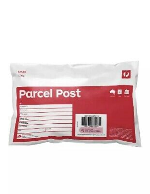 10 X 500g Parcel Post Prepaid Satchels  - Dispatched Same Day- Free Shipping