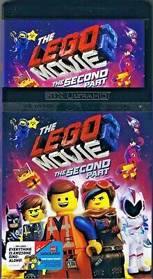 The LEGO MOVIE 2: The Second Part (4K Ultra HD disc, case, artwork & slipcover)