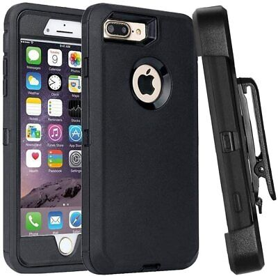 For iPhone 6s 7 8 Plus XS max XR Case Belt Clip Holster fits Otterbox Defender