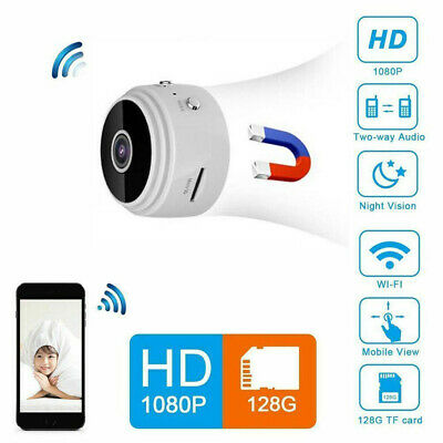 Mini Spy IP Camera Wireless WiFi HD 1080P Hidden Home Security Cam Night Vision